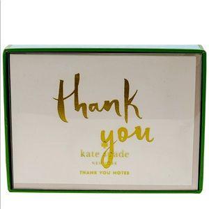 Kate Spade Thank You Notes Set of 10